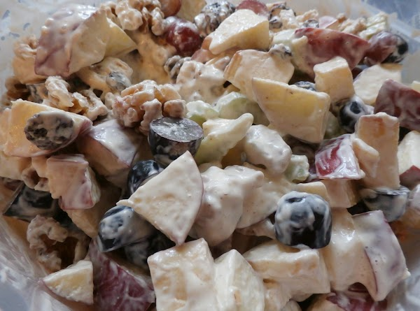 Grape & Walnut Salad Recipe
