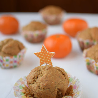 Mandarin Poppy Seed Muffins - Whole Grain