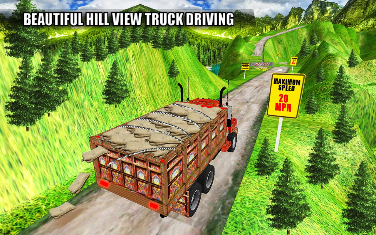 Asian Truck Simulator 2019 cargo carryout New game APK 1 6