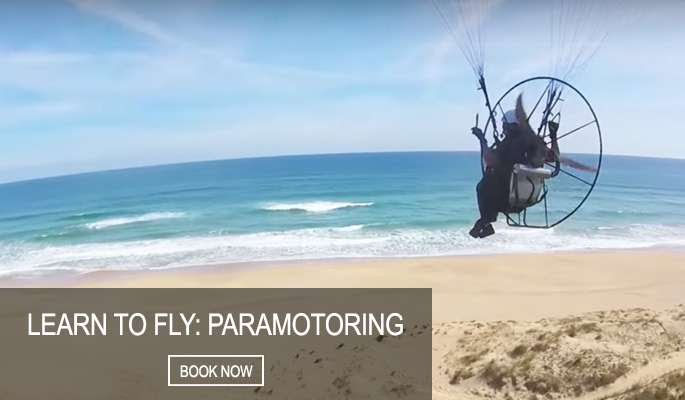 Learn to fly: Paramotoring