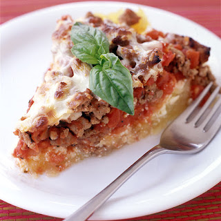 Italian Turkey and Spaghetti Squash Pie Recipe