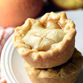 Easy Mini Peach Pies.