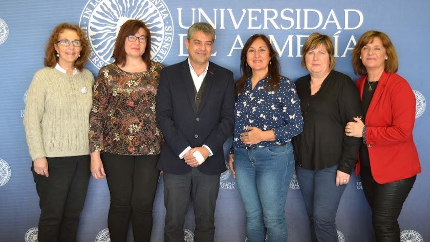 Firma del convenio entre la UAL y la Asociación GEA