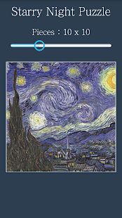 Jigsaw Puzzle: Starry Night - náhled