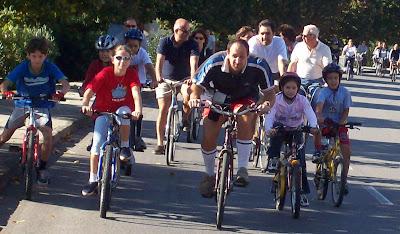 in bicicletta a Chiavari