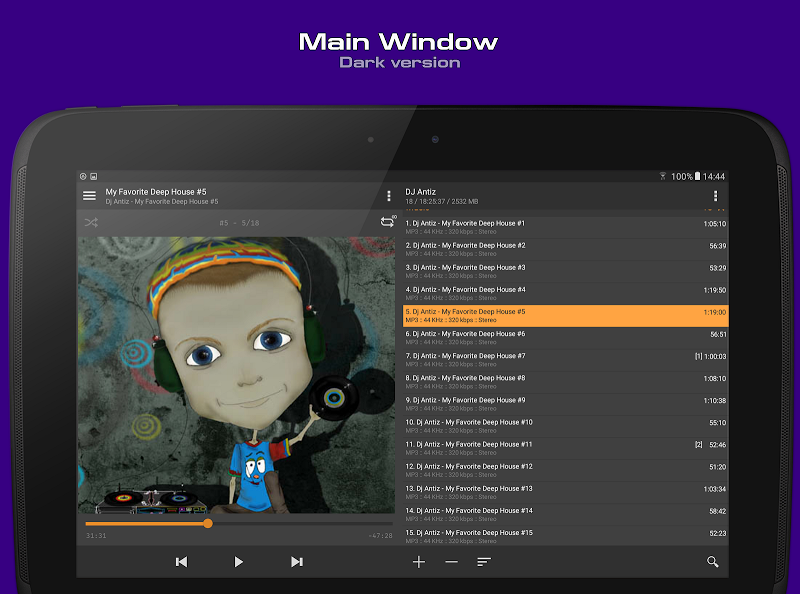 AIMP Screenshot 8