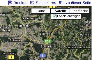 Google Maps Hybrid Schaltflache Wird Durch Terrain Ersetzt Gwb