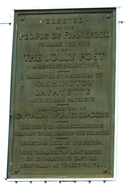 The Jolly Post Inn Plaque
