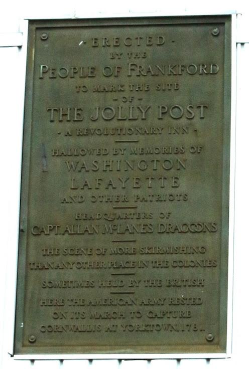 The Jolly Post Inn Plaque