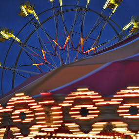 Lights at the Fair by Susan Grefe - Transportation Other