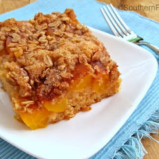 Cinnamon Peach Kuchen.