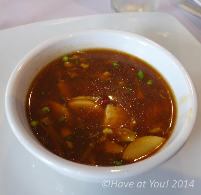 sour and spicy soup