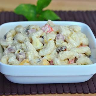 Filipino-style Macaroni Salad.