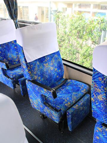 西鉄高速バス「フェニックス号」 9909 シート