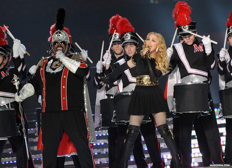 Photo: Super Bowl Performance by Kevin Mazur