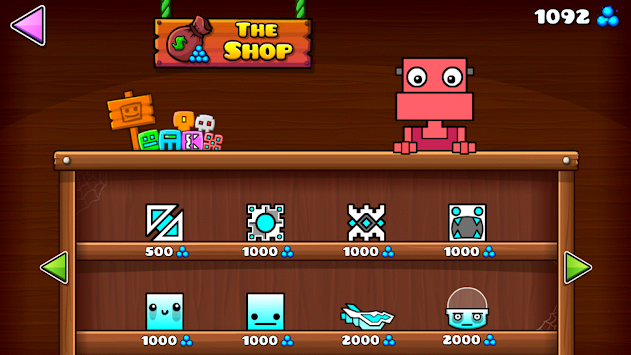 Geometry Dash World APK screenshot thumbnail 3