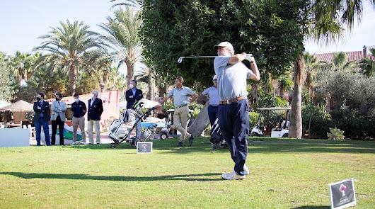Carlos Suneson, al frente del 'Costa de Almería' de golf