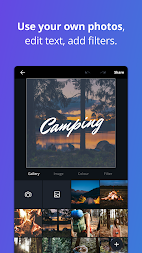 Canva: Poster, banner, card maker & graphic design APK screenshot thumbnail 6