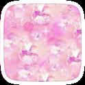Gliter Pink Theme icon