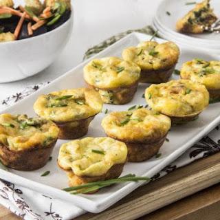 Spinach Artichoke Mini Frittatas