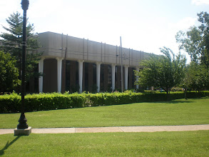 Photo: view of the current library - the Franklin Library