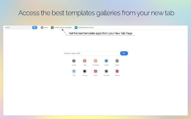 Easy Template Finder