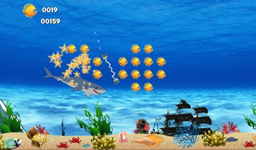 Angry Shark Dash Simulator 2D