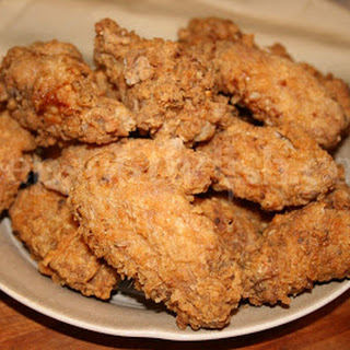 Crispy Southern Fried Hot Wings