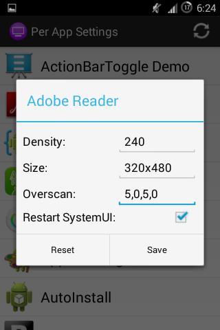 UI Tuner (ROOT) screenshot 6