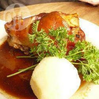 Roast Pork Hock Leg
