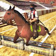 Horse Racing – Horse Jump show : Horse Riding Game