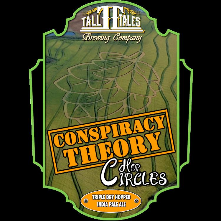 Logo of Tall Tales Conspiracy Theory - Hop Circles