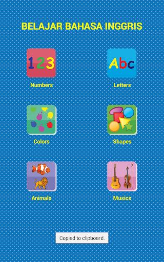 Game Edukasi Anak Lengkap 2.1 screenshots 1