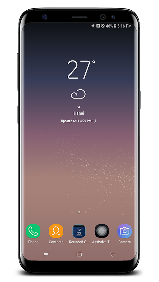 Note 8-S8 Rounded Corners- screenshot