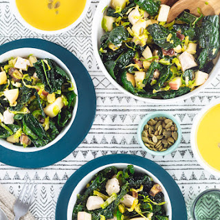 Kale Salad with Chicken and Apple Recipe