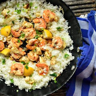 Halloumi and Oregano Shrimp Recipe