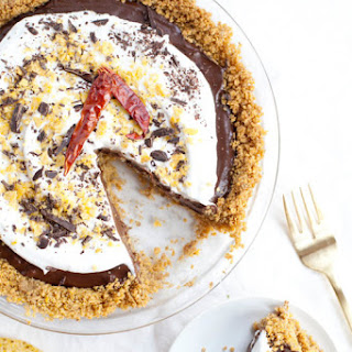 Mexican Chocolate Tortilla Chip Pie.