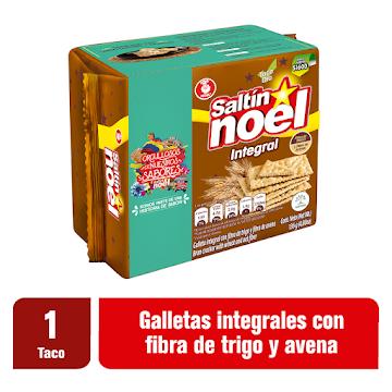 GALLETAS NOEL SALTIN   NOEL INTEGRAL TACO X136G