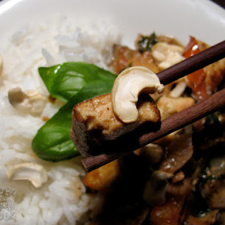 Eggplant Basil Thai Curry Recipe