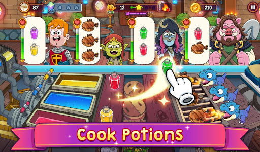 Potion Punch 2: Fantasy Cooking Adventures apkmr screenshots 17