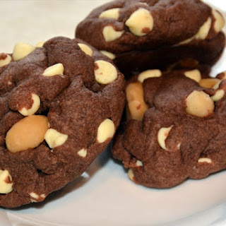 Chocolatey Chocolate Macadamia Nut Cookies Recipe