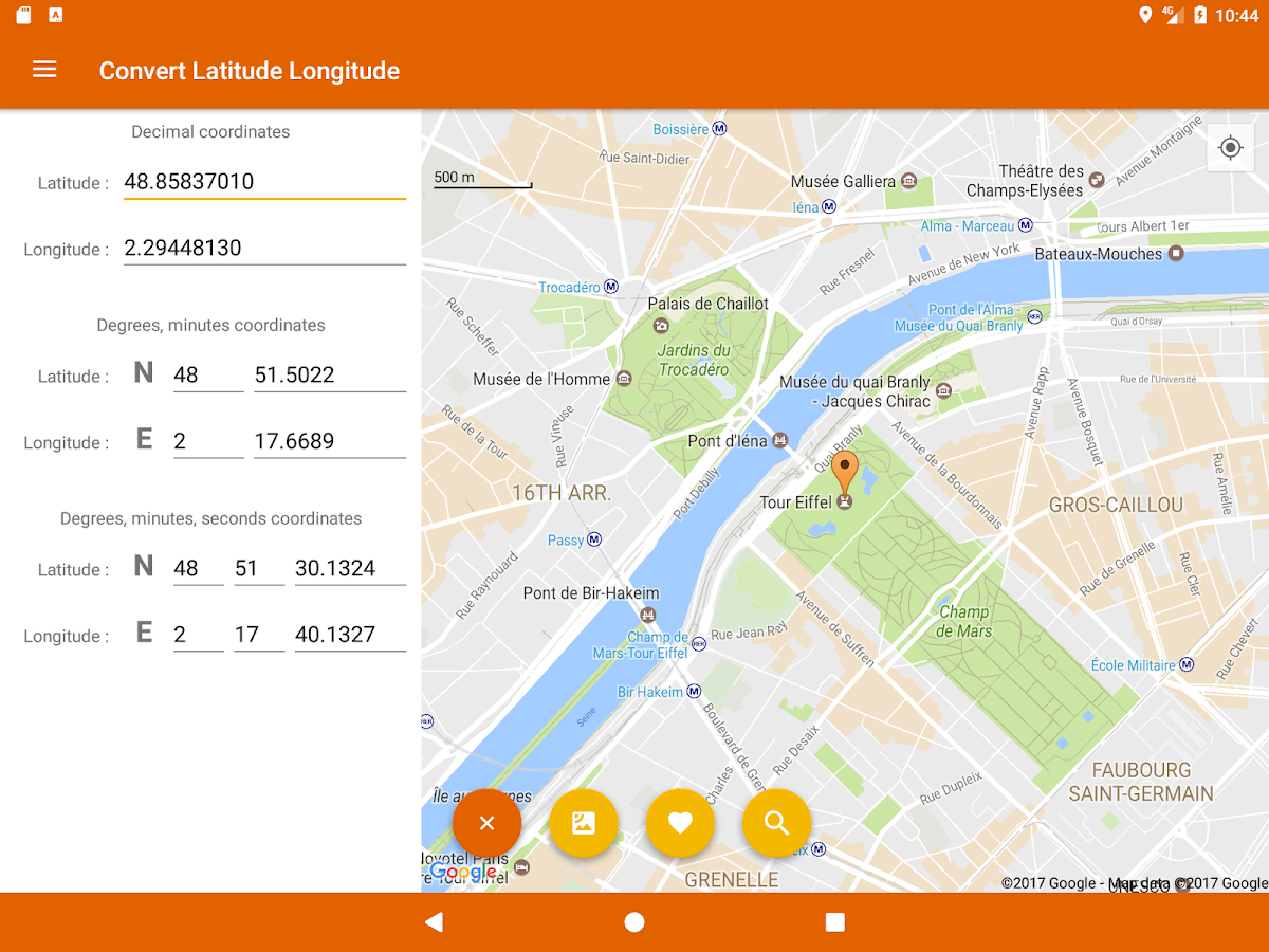 Latitude Longitude Convert Android Apps On Google Play - World map latitude longitude