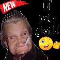 ملصقات و ستكرات دردشة مضحكة للواتساب WAStickerApps icon