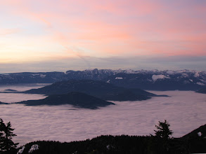 Photo: From Cypress Mountain in fog