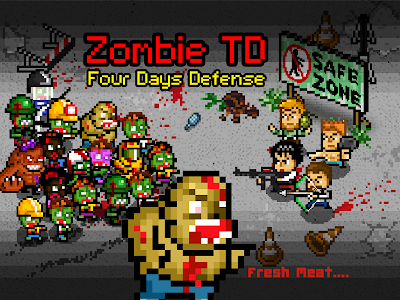 Zombie 4 Day Tower Defense TD v2.0 (Mod Money)