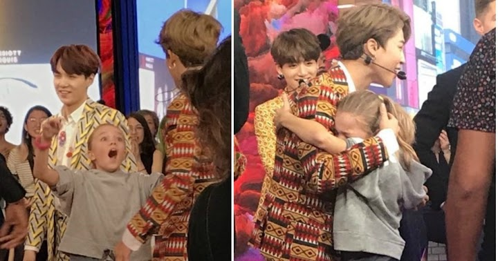This Little Girl's Reaction After Meeting BTS Is Priceless - Koreaboo