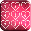 Heart Pin Lock Screen APK