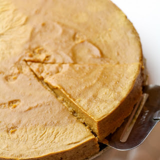 Low Calorie Crustless Pumpkin Pie.