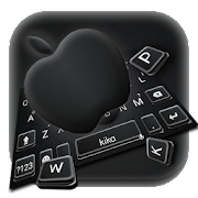 App Jet Black Apple Keyboard Theme APK for Windows Phone