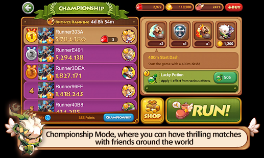 LINE WIND runner- screenshot thumbnail